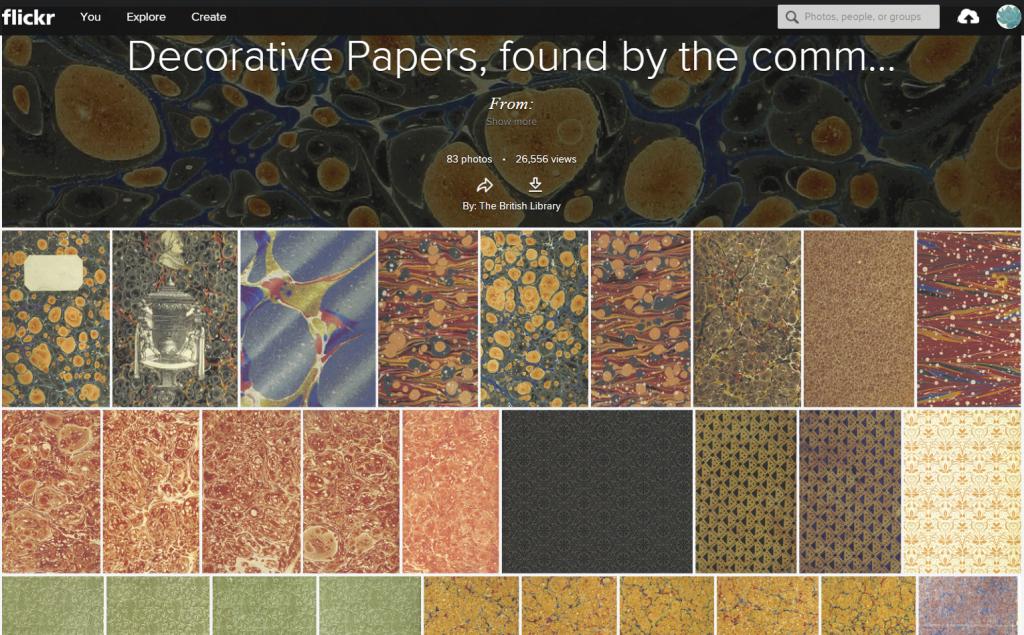 deocrative papers flickr