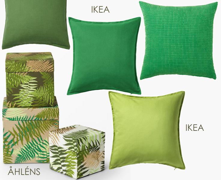 Mer grönt från Åhlens och Ikea